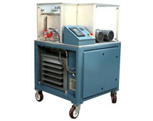Figure 2: WTI Portable Impulse Test Stand - Our test stands range from small portable carts to very large combination test stands which can complete several test functions. Each system is designed to meet your specific test requirements and budget.