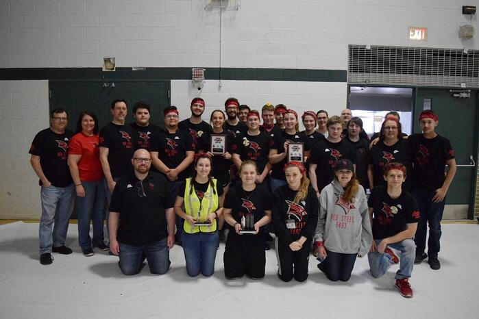 2018 First robotics team