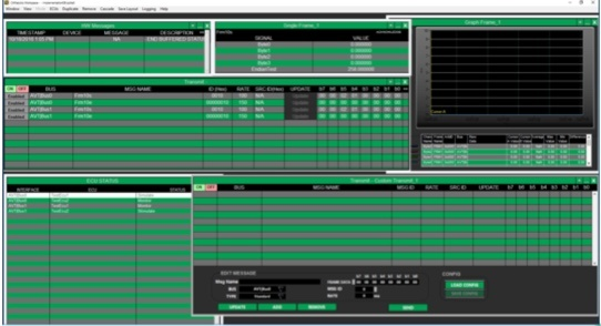 CANalytics Software UI