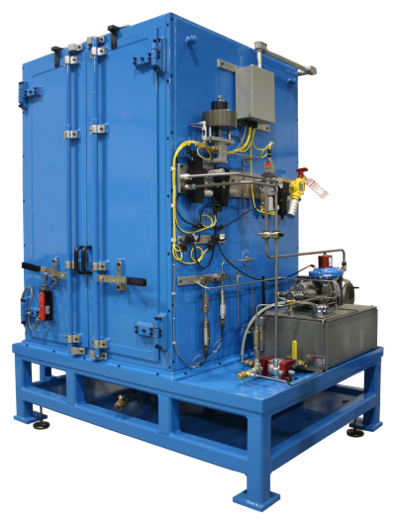 Figure 4 Hydrualic Filter Burst Test Stand