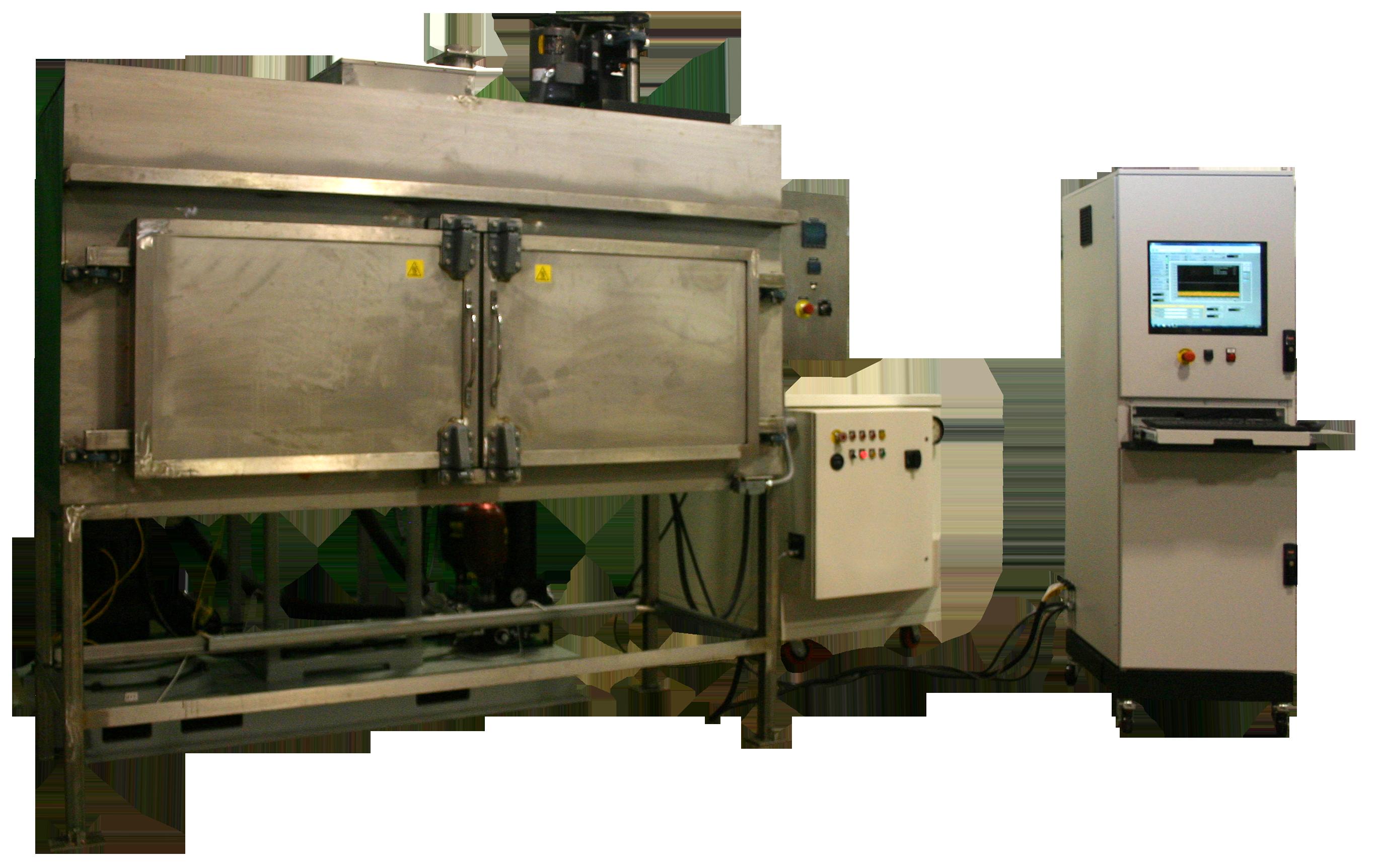 Impulse test stand