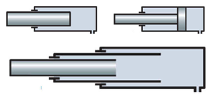 Nine (9) Cylinder Diameters, Multiple Styles, and Four (4) Stroke Lengths are utilized