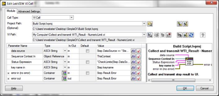Custom Step Types in NI TestStand